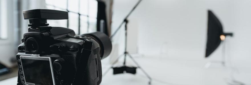 matériel de photographie professionnel